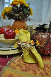 Decorate your Thanksgiving Table
