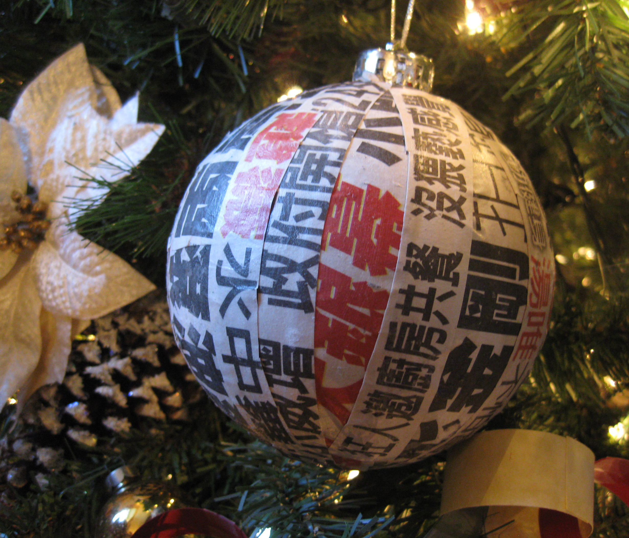 Christmas Ornaments In China : A sustainable christmas inspired by the life and legacy of