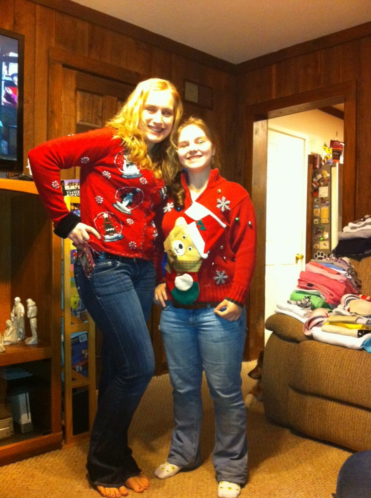 Ugly sweater creations