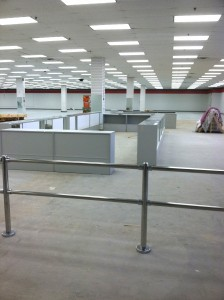 from the entrance - cash wrap/jewelry counters Impact Thrift Stores Feasterville