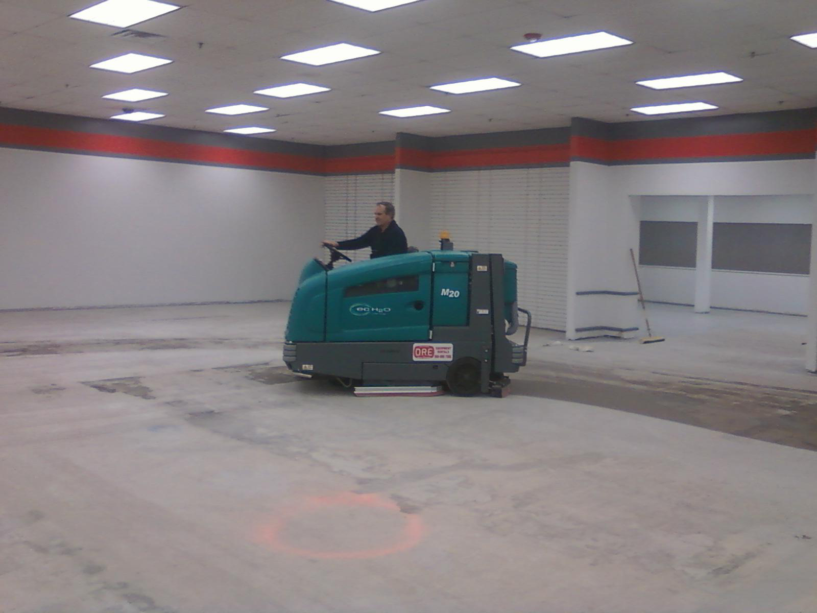 Making progress slowly but surely impact thrift stores for Floor zamboni