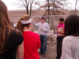 Springfield Middle School students learn about recycling