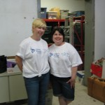 Liberty Mutual staff working in our Bric-a-Brac department