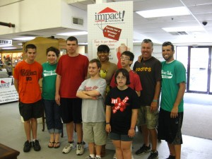 Tamika, Variety Club staff and campers visit Montgomeryville Impact Thrift Stores