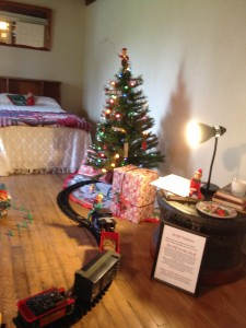 Boy's room at Pearl S. Buck House Festival of Trees 2012