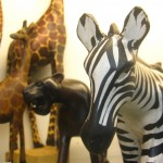 Animal sculptures hand crafted in Kenya