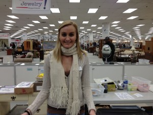 Alicia Stewart, PSU Student, Impact Thrift Store Intern. 