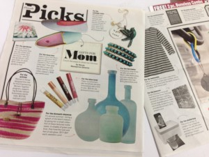 Mother's Day Gift Guide in Parade Magazine