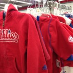 Professional and college team fan attire is available year round at every Impact Thrift Store