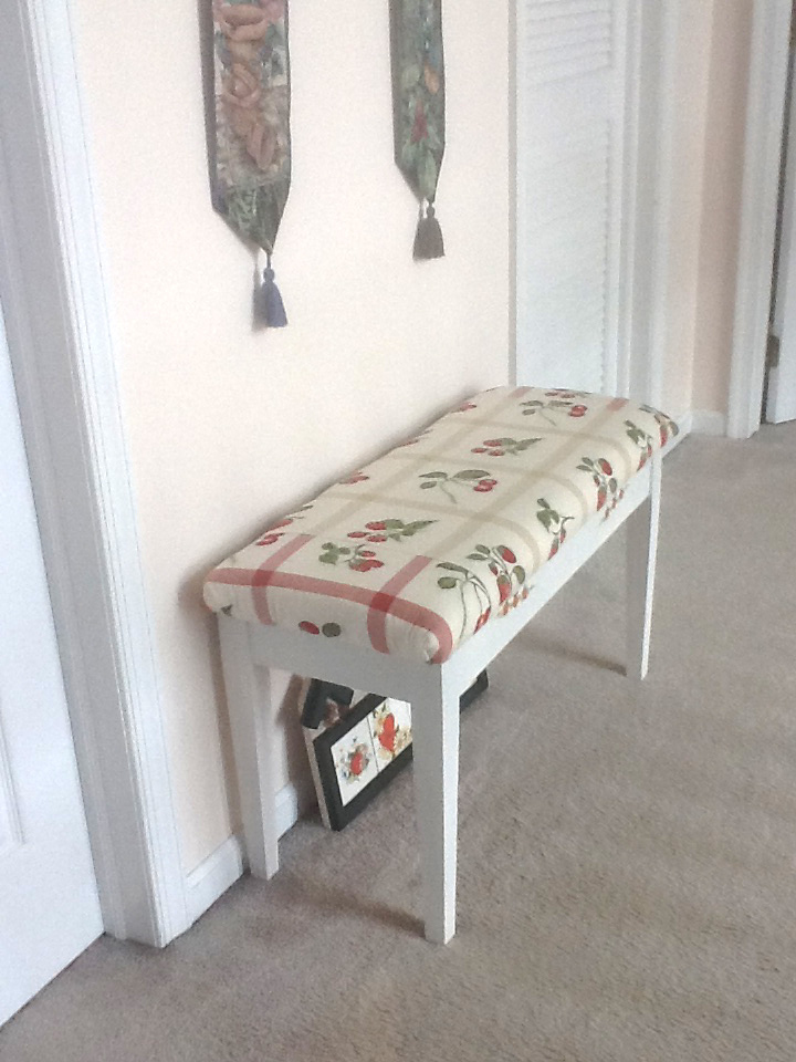 How To Apply Primer >> A Quick and Easy Upcycle Piano Bench Makeover | Impact Thrift Stores