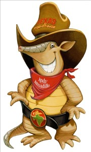 Texas Road House mascot, Andy the Armadillo will entertain at Impact Thrift Store Montgomeryville Fall festival