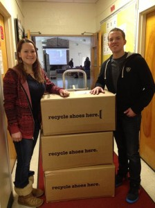 Temple University Ambler Campus Shoe Collection drive