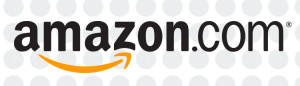 Amazon.com logo with impact dots