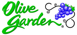 Olive Garden Restaurant logo community partner of Impact Thrift Stores in Montgomery and Bucks County PA