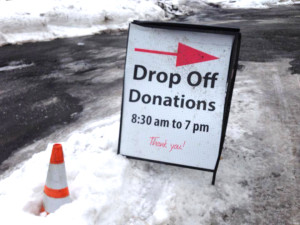 The winter was snowy but that didn't stop many generous donors from dropping off donations at one of our 3 Montgomery County and 1 Bucks County Impact Thrift Store locations