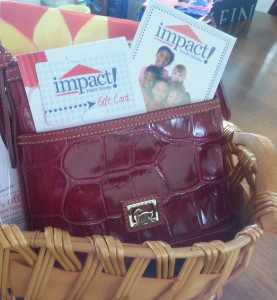 A gift basket or two will be awarded to lucky shoppers during Impact Thrift Stores Spring Fest event at Impact Thrift Store Hatboro location on May 3 2014