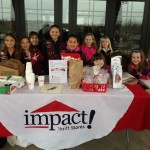 brownie troop collection drive, chalfont, pa, impact thrift stores