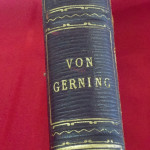 Spine of A Picturesque Tour Along the Rhine from Mentz to Cologne by Baron Johann Isaac von Gerning currently part of Silent Auction at Impact Thrift Store in Hatboro
