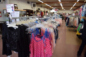 Wider Isles and a new variety of brand new and gently used clothing and merchandise available in the newly remodeled Hatboro Impact Thrift Stores