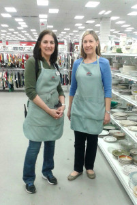 Impact Thrift Store Volunteer of the Year  Kathy Faustino  who helps out in our Feasterville store