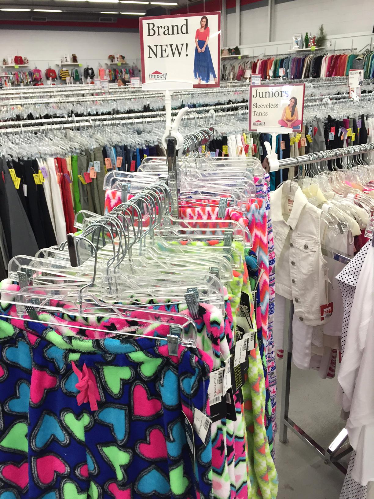 Juniors Clothes Stores