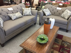 Brand New sofa and loveseat at ImpactThrift Montgomeryville store is available to purchase and take home today.