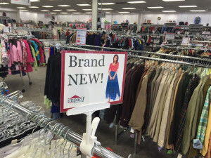 You will find Brand New items at all 5 of our stores!