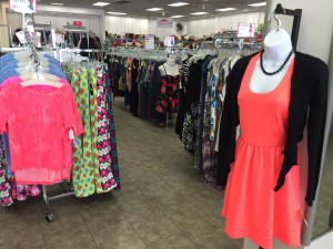 spring clothing at Impact Thrift Stores Bristol Fashion Outlet