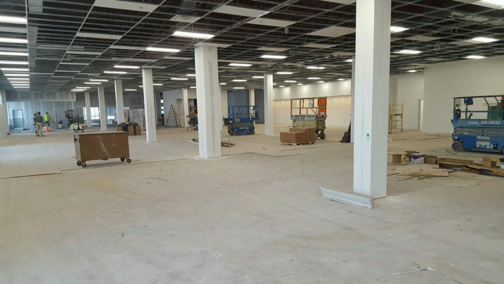 Norristown Impact Thrift Store is taking shape and will be ready to reopen in early August