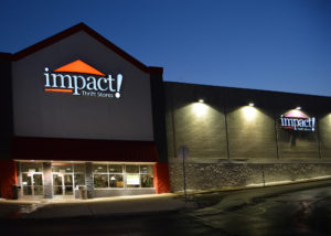 Impact Thrift Stores largest location on Street Rd. in Feasterville, Bucks County, PA.