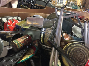 metals that are donated to Impact Thrift Stores but not of quality to sell in our thrift stores in Norristown, Feasterville, Hatboro, Montgomeryville or Bristol, are responsibly recycled